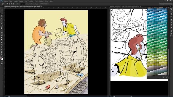 colorindo a capa 02
